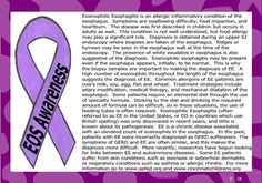 A project I did to Raise Awareness for Eosinophilic Esophagitis