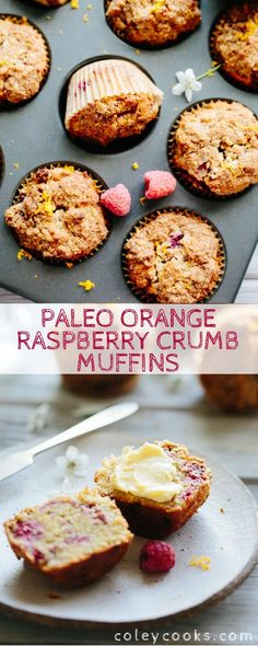 Muffin Recipes, Brunch Recipes, Baking Recipes, Breakfast Recipes, Paleo Recipes, Breakfast Muffins, Paleo Dessert, Dessert Recipes, Desserts