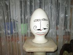 The Uniquee Vintage Egg 1958 with Signature by VintageHomeIrina, $350.00
