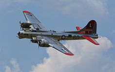 """B-17 Flying Fortress """"Yankee Lady"""""""
