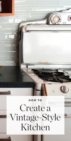 Smart tips from @nardotrealtor for finding quality vintage pieces for your kitchen. — via @PureWow