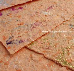 Декоративная бумага своими руками – мастер-класс