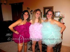 Fun Group Halloween Costume: Loofah Girls... This website is the Pinterest of costumes