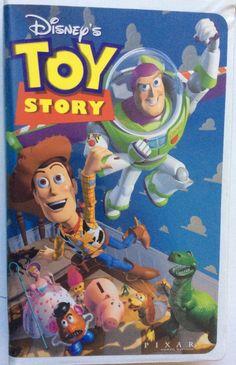 Walt Disney's Masterpiece Toy Story VHS Video Tape with Hard Shell Case | eBay