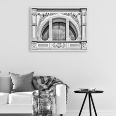 Architecture Print, Arched Window Wall Art, Black and White Photography, Monochrome Print, Trending Art, Arhitecture Decor, Digital Download