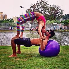 Partner Yoga Photos on Instagram | POPSUGAR Fitness