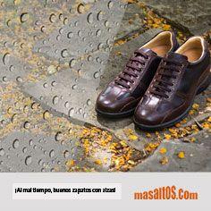 #FelizLunes ¡Pon al mal tiempo, buenos zapatos con alzas! Olvídate de la lluvia con nuestros Carrara, gracias a su piel flor de primera calidad y suela de goma flexible. #masaltos  #modahombre #zapatosconalzas #zapatosdehombre #fashionmen #menstyle #zapatosparainvierno #fashionmen  #menshoes #sportyshoes  #zapatosparalluvia #deportivos #carrara #zapatosmasaltos