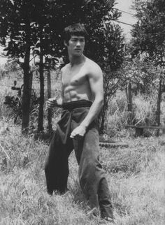 Bruce Lee...One of the most recognized and famous ever to perform Martial Arts