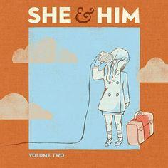 She & Him - Volume Two On Vinyl LP + MP3