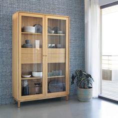 vaisselier vitrine bois decoration Plus
