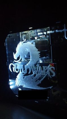 Another beautiful Guild Wars 2 custom PC rig, made by fan, John Coppola http://blog.codeofficer.com/blog/2012/04/14/custom-built-guild-wars-2-gaming-rig/ See more photos here: http://gw2rig.blogspot.com/