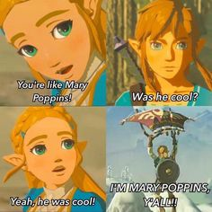 Games memes zelda Ideas for 2019 The Legend Of Zelda, Legend Of Zelda Memes, Legend Of Zelda Breath, Video Game Memes, Video Games Funny, Funny Games, Zelda Breath Of Wild, Breath Of The Wild, Im Mary Poppins Yall