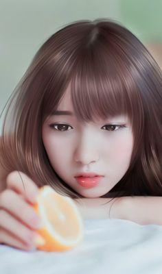 รูปภาพ art, beautiful girl, and design Korean Art, Asian Art, Emo Anime Girl, Lovely Girl Image, Cute Cartoon Girl, Cute Young Girl, Cute Girl Wallpaper, Beautiful Anime Girl, Beautiful Beautiful