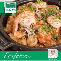 Fosforera (Sopa mariscos Venezolana) Chef. Victor Moreno Ingred.  ½ kilo de pescado en filetes sin espinas ¼ kilo de camarones limpios y pelados... Ver más       https://www.facebook.com/elplazas/photos/a.639357306135879.1073741879.145157952222486/509413715796906/?type=3&theater