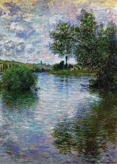 Monet Paintings, Picasso Paintings, Watercolor Paintings Abstract, Impressionist Paintings, Watercolor Artists, Landscape Paintings, Painting Art, Painting Lessons, Abstract Oil