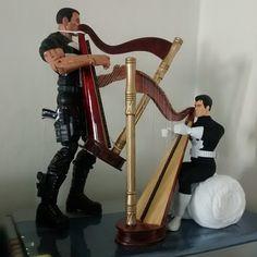 A splendid duet from 2 Punisher figures.