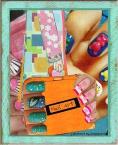 nail art joke by ansjejoanna mixed media