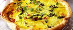 DAGENS RETT: Sats på en smaksrik pai til fredagskosen - Aperitif. Gazpacho, Salsa Verde, Frisk, Cottage Cheese, Vegetable Pizza, Quiche, Bacon, Dinner, Vegetables