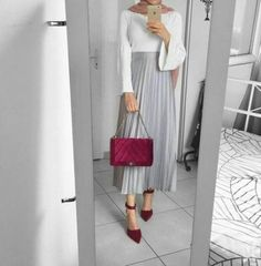 Skirt Outfits Hijab Casual 46 Ideas For 2019 Skirt Outfits Hijab Casual 46 Ideas For 2019 Skirt Outfits Hijab Casual 46 Ideas For 2019 The post Skirt Outfits Hijab Casual 46 Ideas For 2019 appeared first on New Ideas. Modern Hijab Fashion, Street Hijab Fashion, Hijab Fashion Inspiration, Muslim Fashion, Skirt Fashion, Fashion Outfits, Ootd Hijab, Casual Hijab Outfit, Hijab Dress