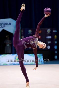 Olena DIACHENKO (Ukraine) ~ Ball @ World Cup Baku-Azerbaijan 28-30/04/'17 Bernd Thierolf.