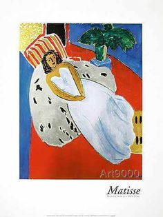 Henri Matisse - Reclining Nude in a White Dress