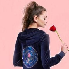 """Can't say we've ever owned Juicy Couture velour tracksuit but the brand have now joined forces with Disney to create a """"Beauty and The Beast"""" limited edition collection. There's a definite tinge of nostalgia going on!   Yay or Nay?! http://lifestyle.one/heat/fashion/news/juicy-couture-beauty-beast-collection/    #beautyandthebeast #juicycouture #fashion #afterheels"""