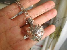 the antique silver Harmony necklace Pregnancy Maternity jewelry wishing jewelry on Etsy, $17.99