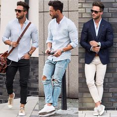 """""""Whats your fav. casual look?! Let me know ⬇️⬇️⬇️ #casual"""""""