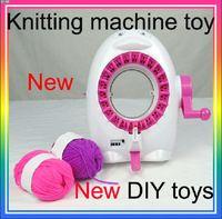 Girls Toys children knitting machine DIY toys for sales