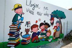llegir per viure ... Turu, Disney Characters, Fictional Characters, Family Guy, Drawings, Illustration, Google, School, Ideas