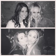 """Becca Tobin on Instagram: """"I don't think it's a coincidence that two of my favorite humans were born on the same day. These ladies are the most loyal, supportive, and loving friends a girl could ever ask for. Thank you for being there during the tough times and thank you for laughing with me until I pee  I love you both so incredibly much!! HBD @bettinpeggy and @msleamichele"""""""