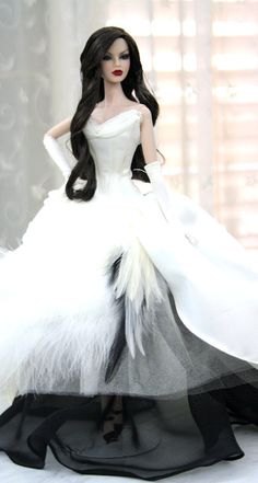 Bride doll, Beautiful Dress