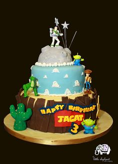 Jagats Birthday Cake: made by the little elephant cake company