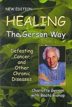 You'll find me at one of these clinics before I ever step foot in a chemo  clinic! Raw food nutrition. Gerson therapy