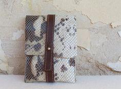 Leather iPhone Case / Samsung Galaxy Case Snakeskin by Avistudio