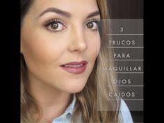 "3 trucos para levantar los ""ojos caidos"" - YouTube"