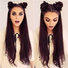 Afbeeldingsresultaat voor space buns tumblr - Looking for Hair Extensions to refresh your hair look instantly? http://www.hairextensionsale.com/?source=autopin-thnew