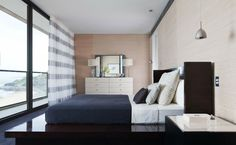 The Royal Newcastle - Penthouse bedroom