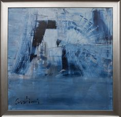 ~Engine of Life~   -Kindness can change humanity-    .: Oil on canvas, abstract art.  Contemporary paintings by Cristiani, New York.