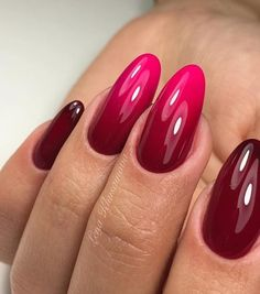 886 Likes 5 Comments Маникюр / Ногти / Мастера ( fullcover nails rot Nail Designs Pictures, Cute Nail Art Designs, Beautiful Nail Designs, Perfect Nails, Gorgeous Nails, Pretty Nails, Red Acrylic Nails, Gel Nail Art, Hot Nails