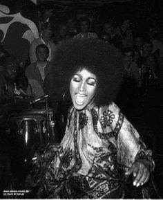 Marsha Hunt 1969 at the Blow Up Club Munich