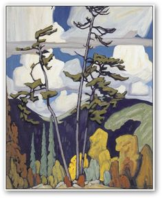 Lawren Harris - The Pines. A great print - I have a large one in my living room.