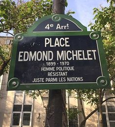 La place Edmond-Michelet  (Paris 4ème)