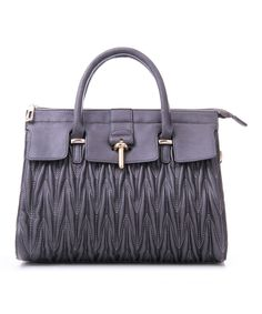 This Gray Square Satchel by MKF Collection is perfect! #zulilyfinds