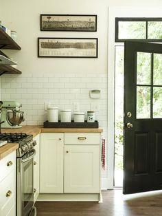Kitchen Chronicles: New Hardware & Paint | Jenna Sue Design Blog