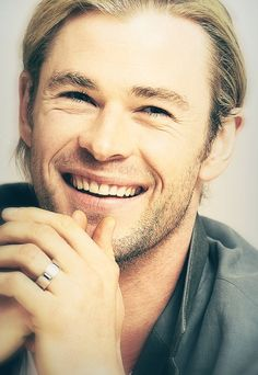 Chris Hemsworth...the one and only. He had to be my first pin. :) Such a beautiful man!