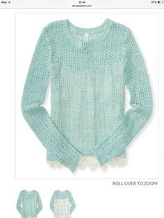 . Simple Crochet, Pullover, Sweaters, Fashion, Moda, Fashion Styles, Sweater, Fashion Illustrations, Sweatshirts