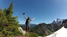 "Go along as the ""go pro"" video takes you on a hike on Mt. Baker."
