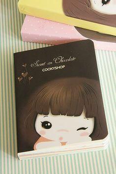 Sweet As Chocolate Notebook, pookiedookie © - Sydney