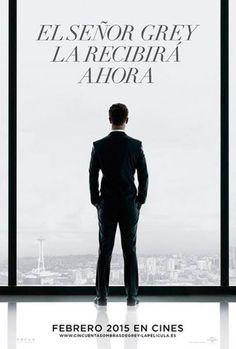 Primer poster de '50 sombras de Grey'